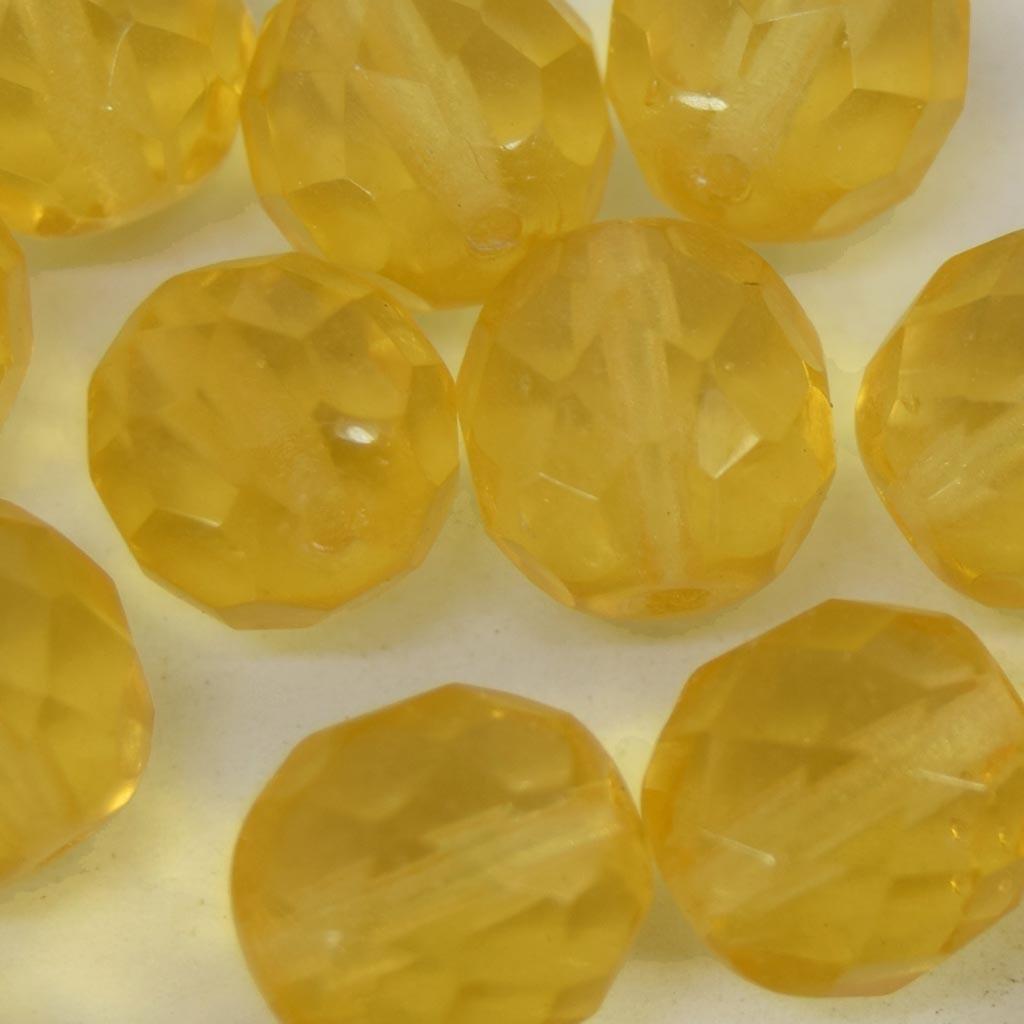 Cristal 10 mm Transparente Ouro Claro  711718