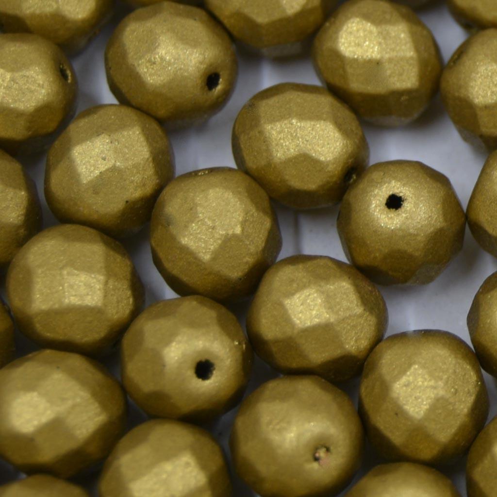 Cristal 8 mm Metalizado Pintado Ouro Velho 712105
