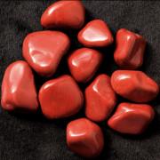 Pedra Polida Jasper Vermelho 1 Unidade