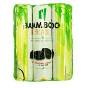 Carvão Pastilha Bamboo 1 Pacote com 10 Unidades