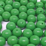 Conta de Porcelana  8mm Opaca Verde - 300uni - 5322 - 710559