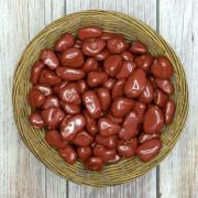 Pedra  Polida Jasper Vermelho   - 1 Kilo