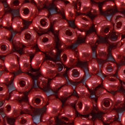 Miçanga 6/0 Metalizada Vermelha 708051