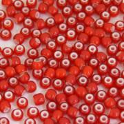 Miçanga 6/0 Rajada Boquinha vermelha 708109
