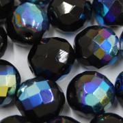Cristal 12 mm Transparente Irizado Preto 708499