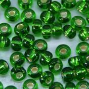 Miçanga 6/0 Espelhada Verde Médio 709062