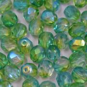 Cristal 6 mm Transparente Irizado Verde 711347