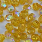 Cristal 3 mm Transparente Ouro Irizado 711442