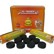 Carvão Pastilha Al Fakher 1 Pacote com 10 Unidades