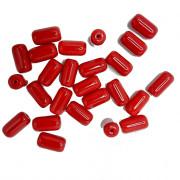 Firma  grande  24 x 13 mm Vermelho Opaca 708654