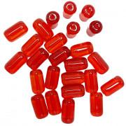 Firma  grande  24 x 13 mm Vermelho Transparente 708675