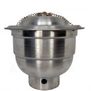 Turibulo Alumínio Pequeno 10 x 8 - 1 Unidade