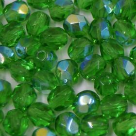 Cristal 6 mm Transparente Irizado Verde 711596