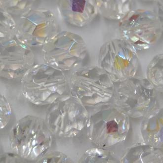 Cristal 8 mm Transparente Irizado Branco 710713