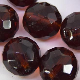 Cristal 14 mm Transparente Marrom 708885