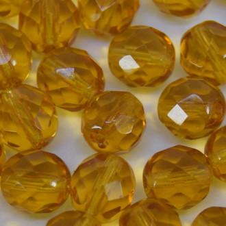 Cristal 8 mm Transparente Ouro 710591