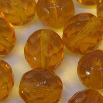 Cristal 10 mm Transparente Ouro 710798