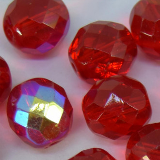 Cristal 12 mm Transparente Irizado Vermelho 710899