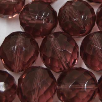 Cristal 14 mm Transparente Lilás 711639