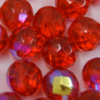 Cristal 12 mm Transparente Irizado Laranja 711812