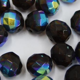 Cristal 10 mm Transparente Irizado Marrom 712058