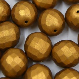 Cristal 14 mm Metalizado Pintado Ouro Escuro 712122