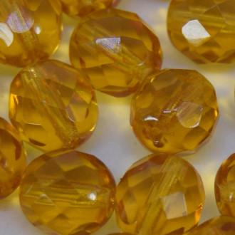 Cristal 16 mm Transparente Ouro 712258